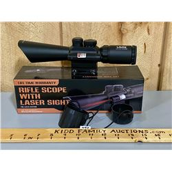 UUQ LS 3.5 - 10 X 40 E SCOPE - AS NEW W/ BOX & MANUAL