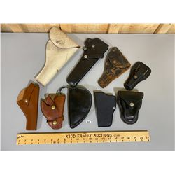 QTY OF MISC HOLSTERS