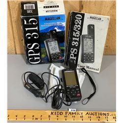 MAGELLAN GPS 315 W/ BOX & MANUAL