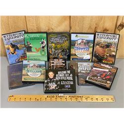 LOT OF HUNTING DVDS & GAME FINDER