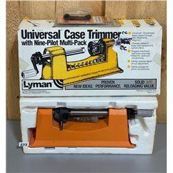 LYMAN CASE TRIMMER & ACCESSORIES
