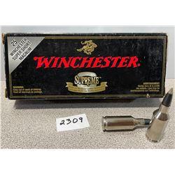 AMMO: 20 X 25 WSSM WINCHESTER 85 GRAIN