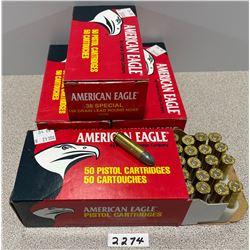 AMMO: 200 X AM. EAGLE 38 SPL 158 GRAIN