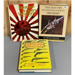 LOT OF 3 FIREARMS REFERENCE BOOKS
