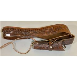 WESTERN LEATHER HOLSTER - SZ 38
