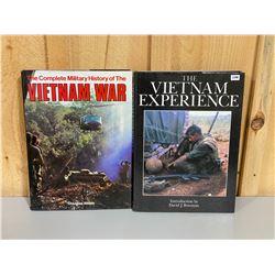 LOT OF 2 VIETNAM WAR COFFEE TABLE BOOKS