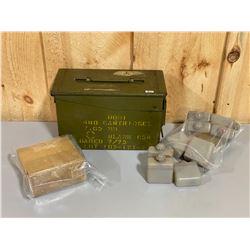 CND BREN OILERS & METAL AMMO BOX