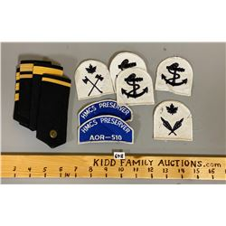 QTY OF NAVAL BADGES