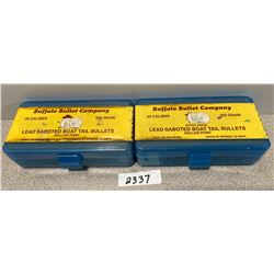 AMMO: 72 X 50 CAL BULLETS  302 GRAIN,  SEALED BOXES