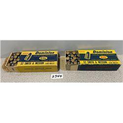 AMMO: 100 X CIL 32 S&W SHORT  85 GRAIN