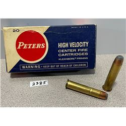 AMMO: 20 X PETERS 45-70 GOV'T   405 GR