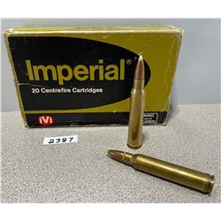 AMMO: 20 X IMPERIAL 300 WIN MAG   180 GR