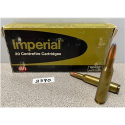 AMMO: 20 X IMPERIAL 6MM REM   100 GR