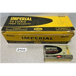AMMO: 500 X IMPERIAL 22L