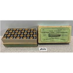 AMMO: 50 X PETERS 32 COLT