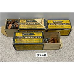 AMMO: APPROX 60 X 22 SUPER-CLEAN BOXES