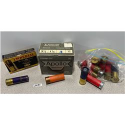 AMMO: 19 X MIXED 12 GA AND 4 16 GA SLUGS
