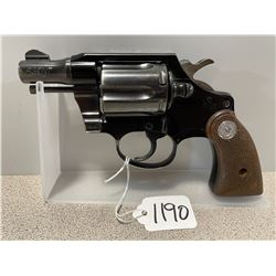 COLT AGENT MODEL .38 SPL - PROHIB
