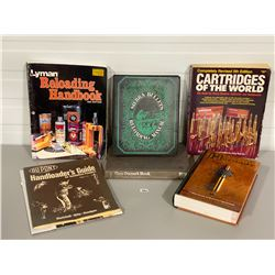 LOT OF 7 RELOADING BOOKS AND GUIDES