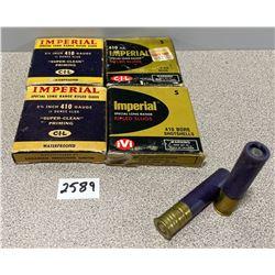 AMMO: 20 X IMPERIAL 410GA 2 1/2 RIFLED SLUGS