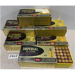 AMMO: 400 X IMPERIAL 22 LONG