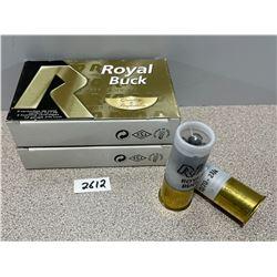 AMMO: 10 X ROYAL BUCK 12 GA 2 3/4