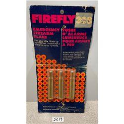 AMMO: 3 X FIREFLY .270 FLARES