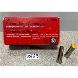 AMMO: 50 X RWS 9MM FLOBERT SHOT