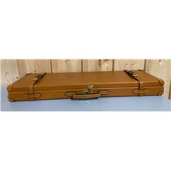 LEATHER GUN CASE - AS NEW