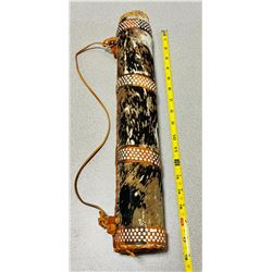 HAND MADE QUIVER FROM ZIMBABWE