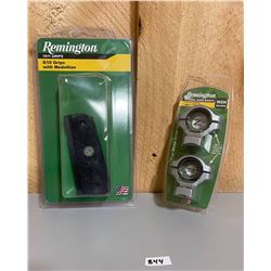 REMINGTON PISTOL GRIPS AND SCOPE RINGS