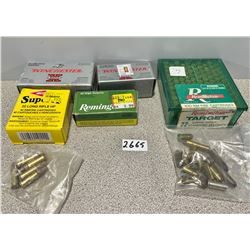 AMMO: APPROX 250 X 22 CAL MIXED