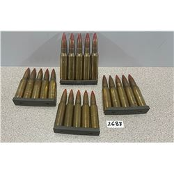 AMMO: 20 X 7.62 X 51 TRACERS