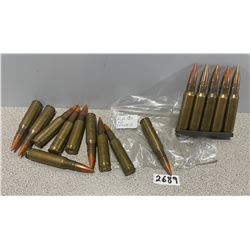 AMMO: 15 X 7.62 X 51 TRACERS