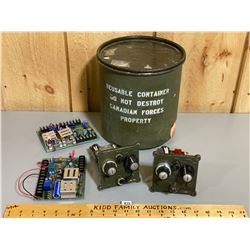 SPARE ELECTRONIC COMPONETS FOR MINE DETECTOR