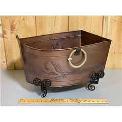 DELTA WATERFOWL DECORATIVE TIN TUB WITH STAND