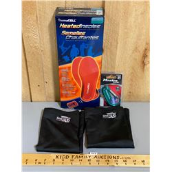 THERMACELL HEATED INSOLES PLUS MASTERLOCK PADLOCK AND 2X NECK GAITERS