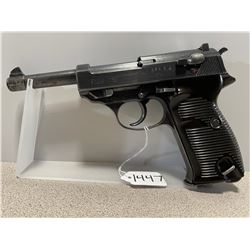 WALTHER MODEL P38 9 MM PARA W/ ORIG HOLSTER