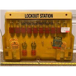 MASTER 10 LOCK - LOCKOUT STATION