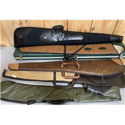 LOT OF GUN CASES - 1 HARD & 5 SOFT