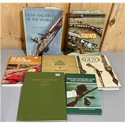 LOT OF 7 FIREARMS REFERENCE BOOKS