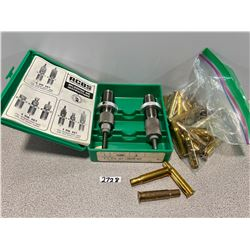 RCBS .30-30 RELOADING DIE SET & APPROX 30 X BRASS