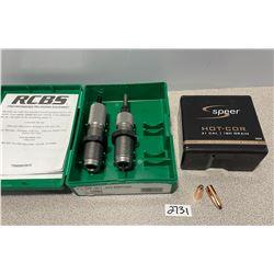 RCBS .303 BRIT RELOADING DIE SET & 39 X SPEER 108 GR BULLETS