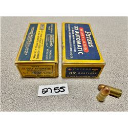 AMMO: APPROX 100 X .32 AUTO MIXED GR