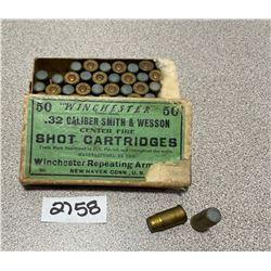 AMMO: 42 X WINCHESTER .32 S&W SHOT
