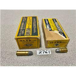 AMMO: CIL 50 X .32 S&W S & 50 X .32 L