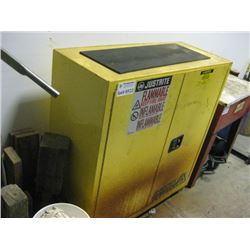 HALF SIZE FIRE PROOF CABINET AND CONTENT