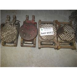 HILMAN AND OTHER ROLLERS 5PC