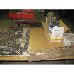 TABLE OF PARTS / WELDING RODS AND TOOLS