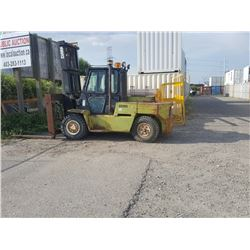 CLARK 15,000 LB FORKLIFT WITH 8 FT WIDE CARRIAGE DIESEL